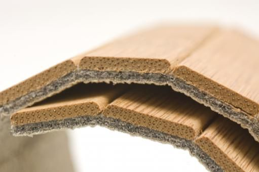 Moso unibamboo is a patented flexible flooring product which