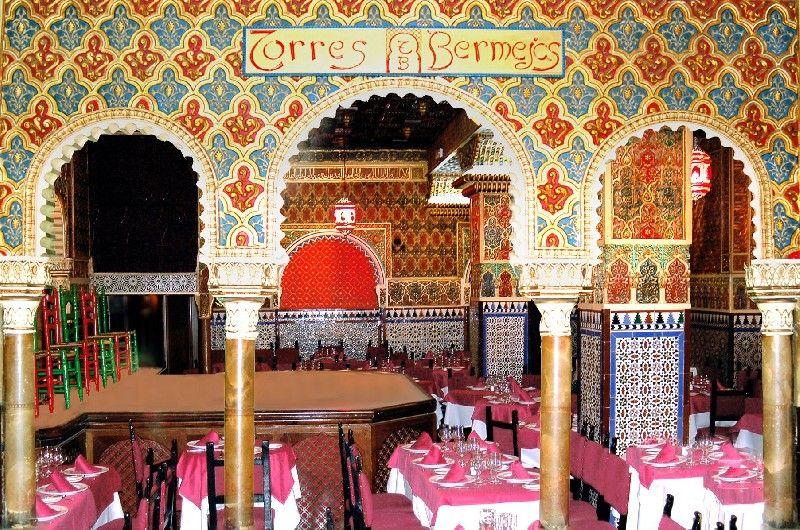 Restaurante Torres Bermejas C Mesonero Romanos 11 Madrid