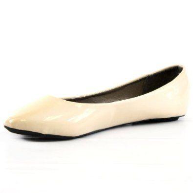 : West Blvd Womens Ballet Flats Casual Slip On