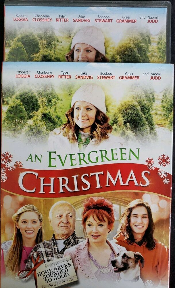 An Evergreen Christmas (DVD, 2014) w/ Slipcover Brand New