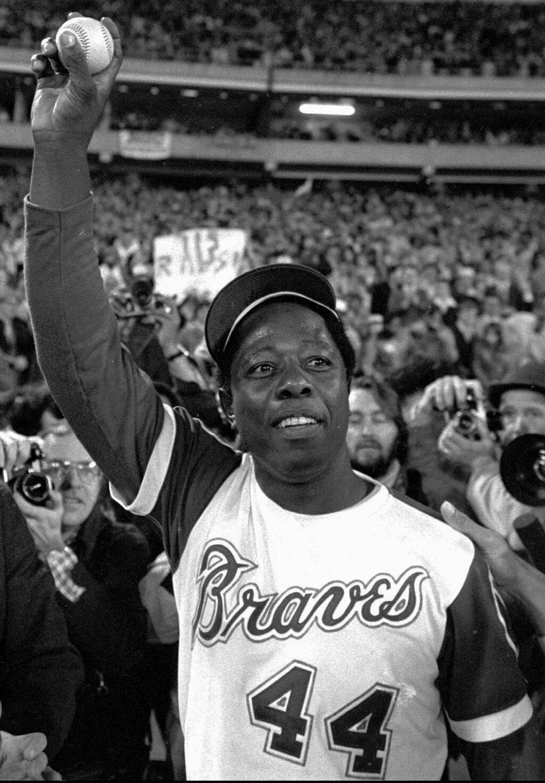Michael Beschloss On Twitter Atlanta Braves Baseball Atlanta Braves Hank Aaron