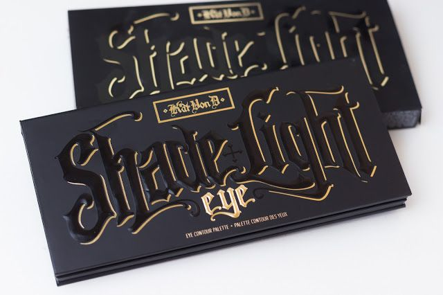 Kat Von D Shade   Light Eye Contour Palette - Resenha e Swatches