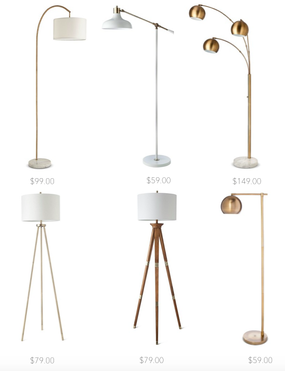 Affordable Floor Lamps Danielle Oakey Interiors Affordable Floor Lamps Floor Lamps Living Room Lamps Living Room
