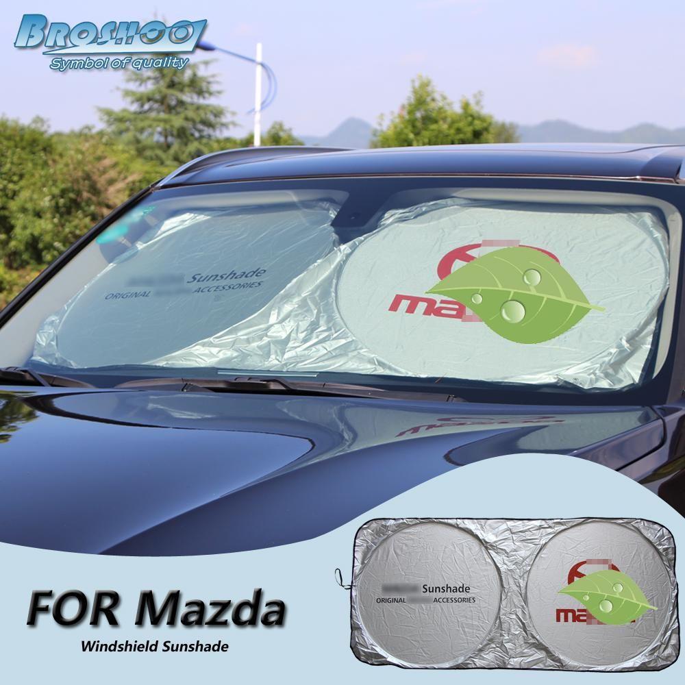 Broshoo Car Windscreen Sunshade Front Window Sun Shade Windshield