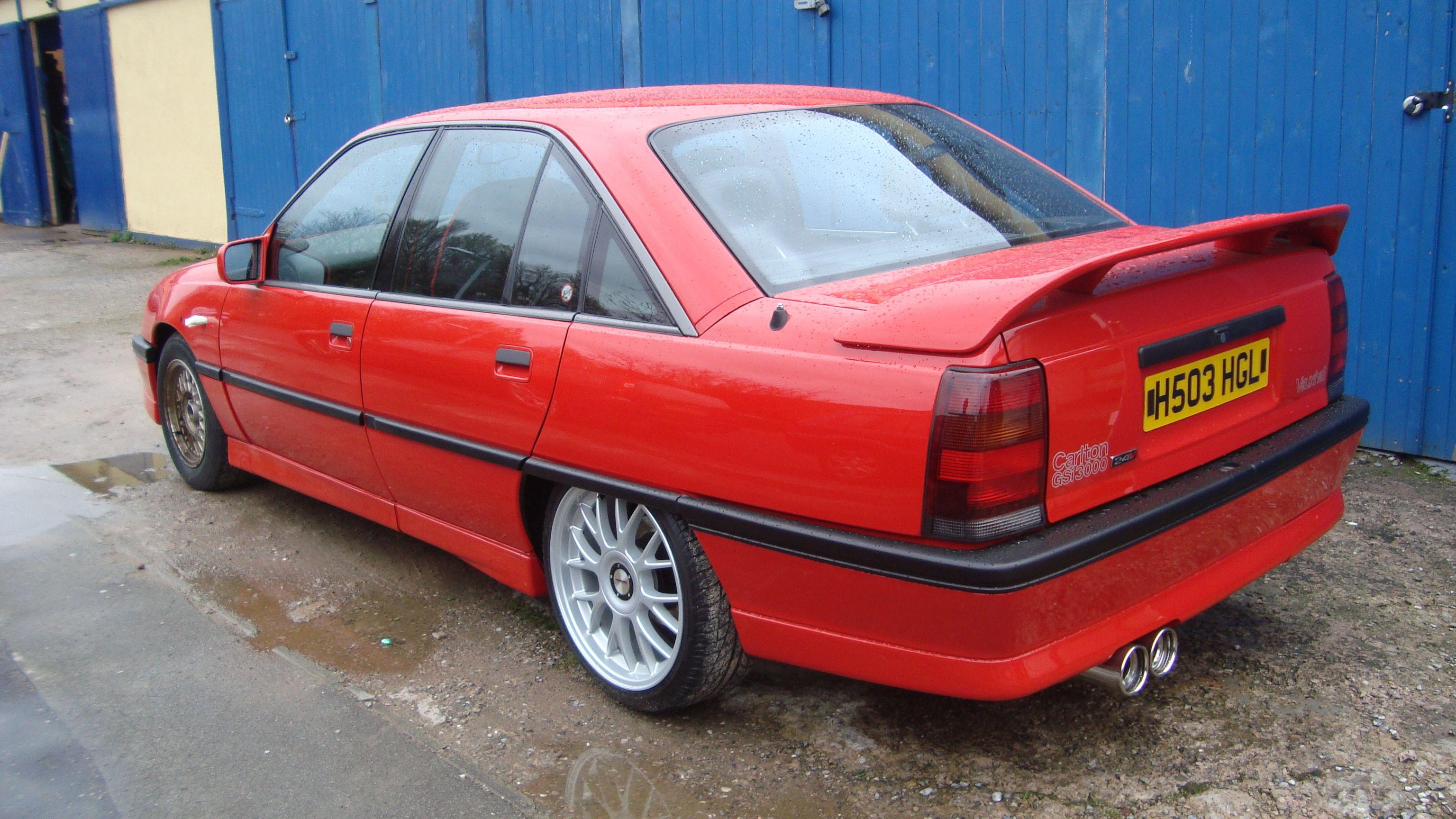 Vauxhall Carlton File 1991 Vauxhall Carlton 3 0 Gsi 24v
