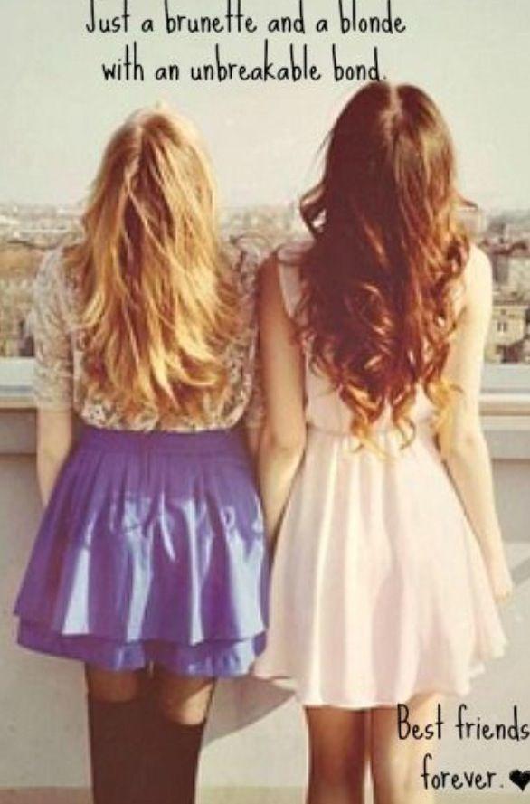Blonde And Brunette Quotes : blonde, brunette, quotes, Blonde, Brunette,, Friends, Forever, ❤️, Quotes,, Friend, Happy, Birthday