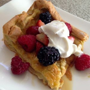 Paleo Dutch Baby Recipe | used one cup almond flour in ...