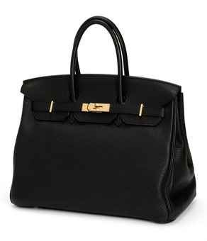 Classic Black Hermes Birkin Bag Black Birkin Bag Birkin Bag Togo Leather