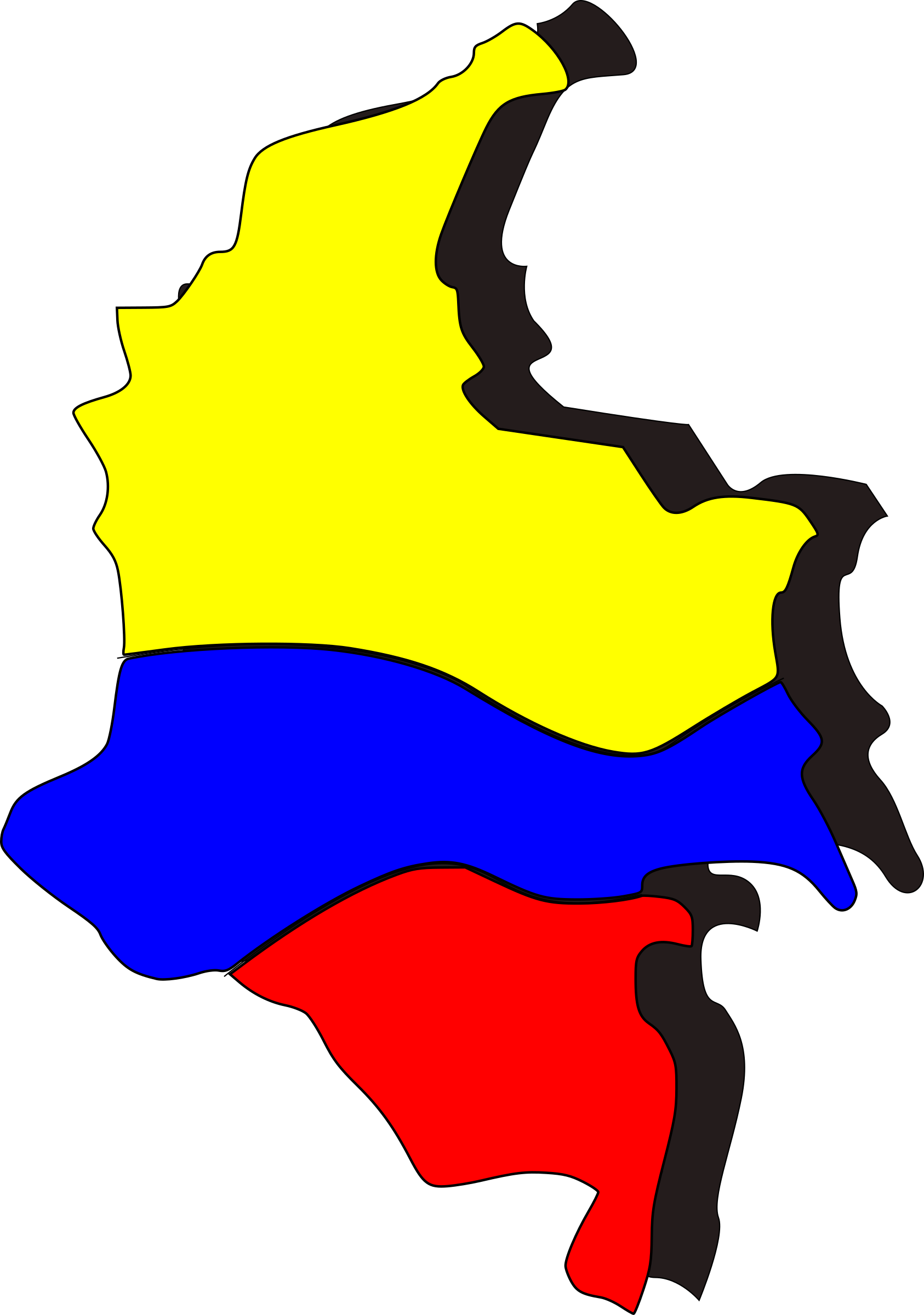 Colombia New T-Shirt Country Flag Colombian Top City Map