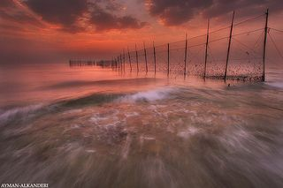 Fish trap | Flickr - Alman Alkanderi