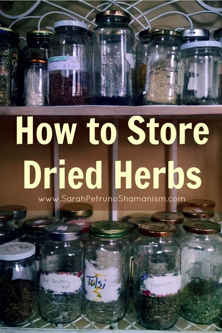 How to Store Dried Herbs and Keep Them Fresh Herbs Check and Store