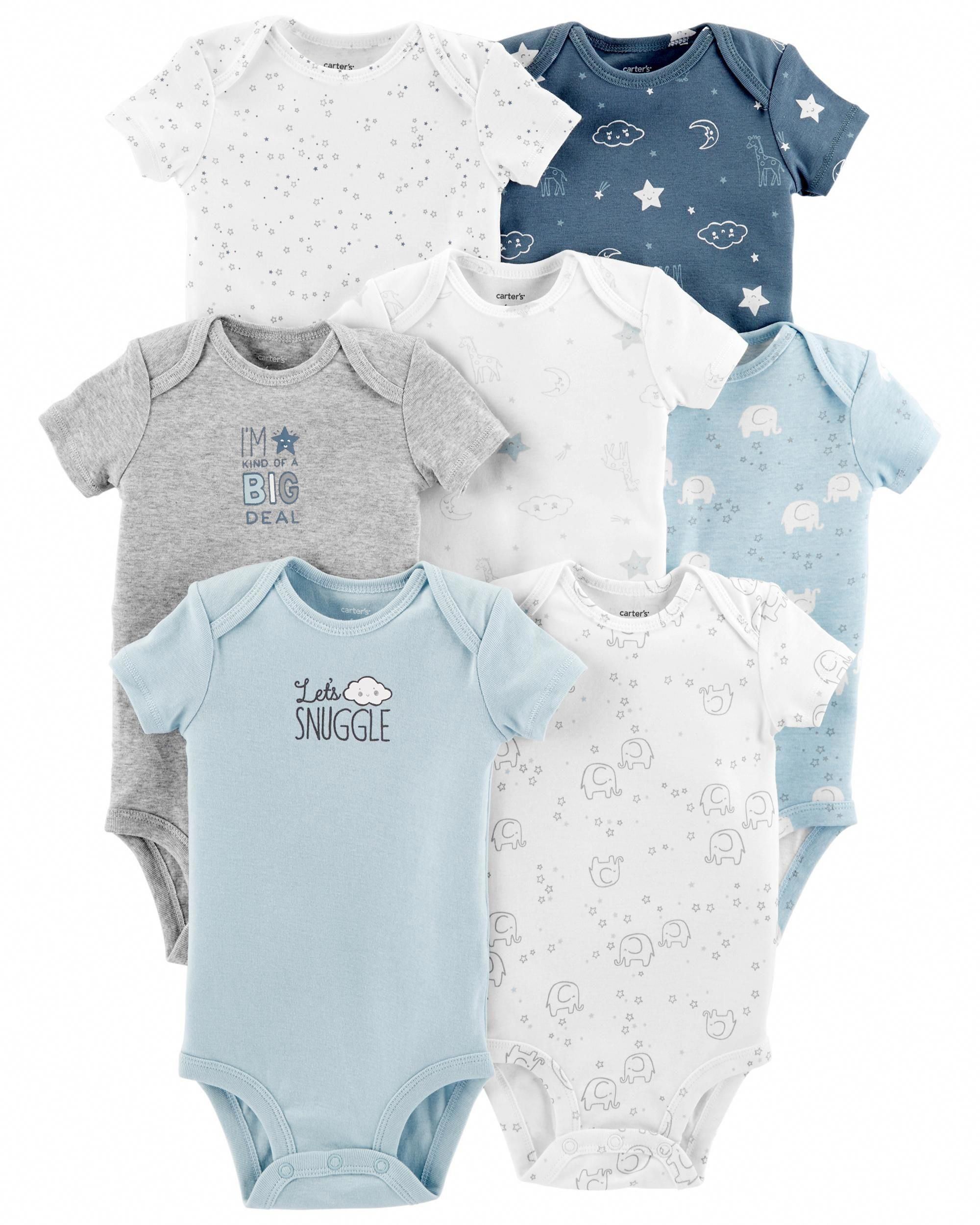 Baby Boys Girls Short-Sleeve Polo-Style Shirt 100/% Cotton Bodysuits for Infant