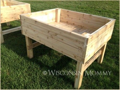 Building Raised Garden Beds On Legs, How To Build A Raised Garden With Legs