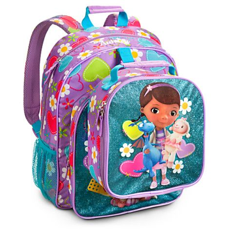 4e90b18a5da Doc McStuffins Backpack - Personalizable