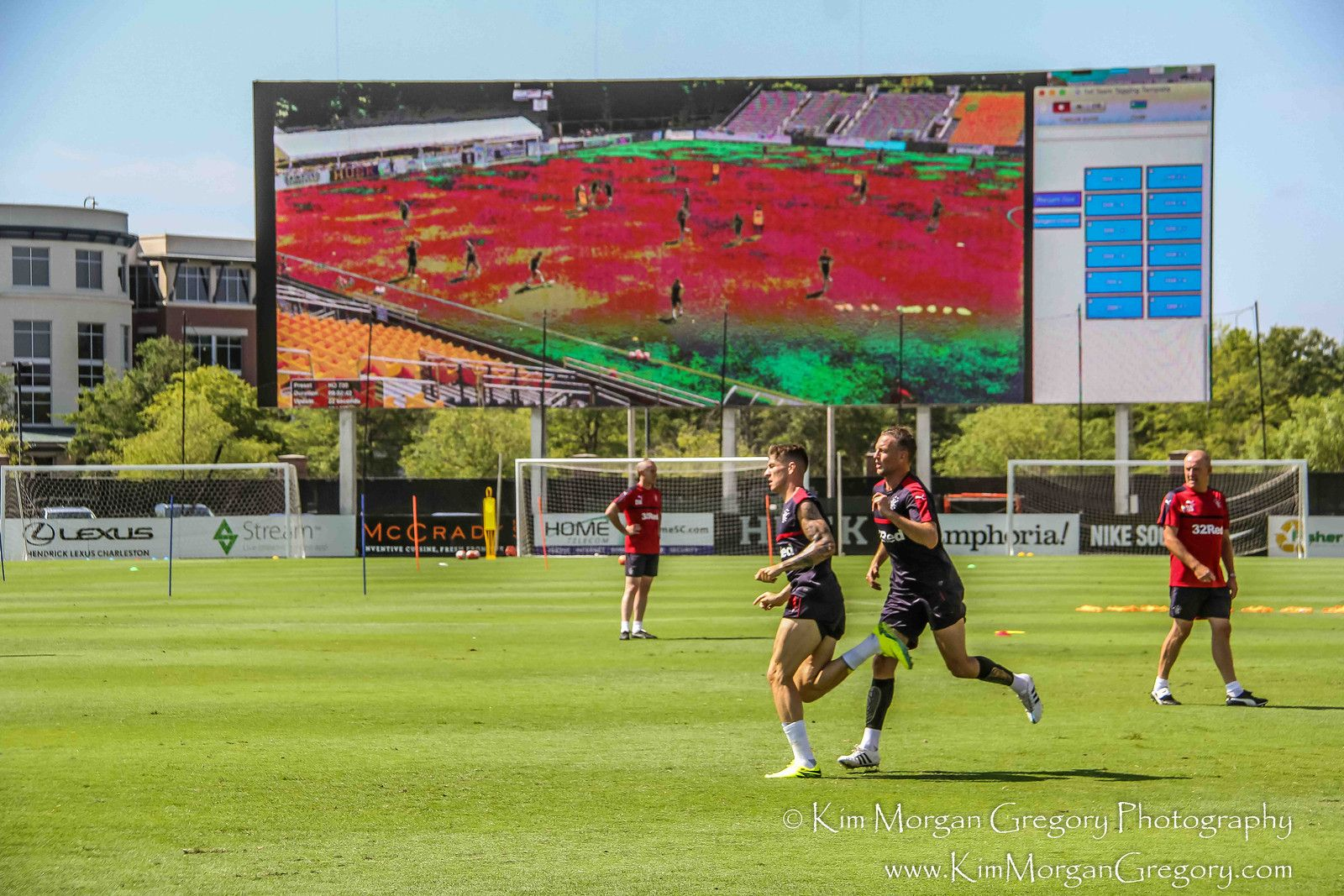 RANGER'S FC TRAINING in Charleston SC | MUSC Health Stadium