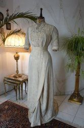 antique wedding gown 1909