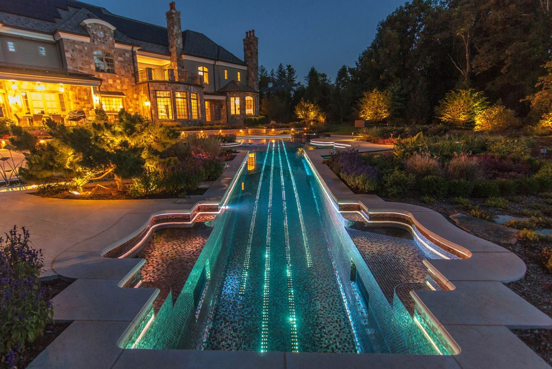 Image By Pool Pro On Dream Pools Pool Landscaping Custom Swimming Pool Cool Pools