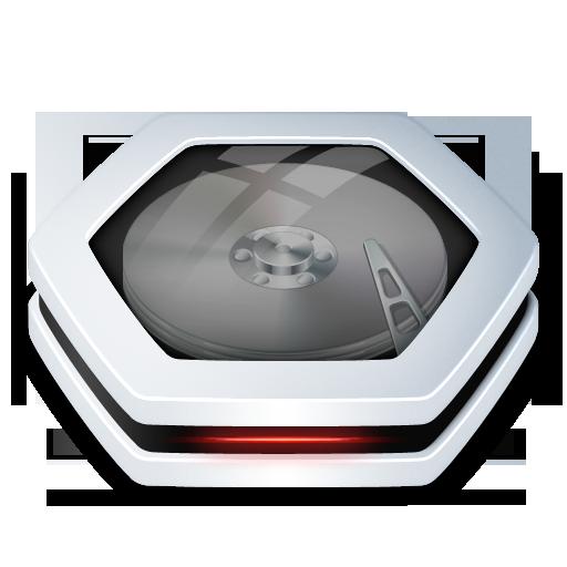 Harddrive V2 Icon Artwork By Arrioch Milos Mirkovic Icon Hard Drive Folder Icon