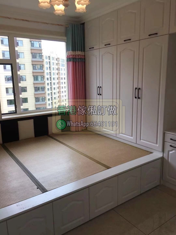 香港傢俬全屋訂造室內設計查價加whatsapp 66451191 書架實木豐年鞋櫃