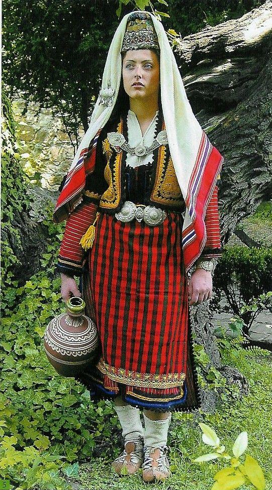Montenefgro Folklorique Folklorique Femme Montenefgro Femme Femme Montenefgro Costume Costume Folklorique Costume WHI9eYED2