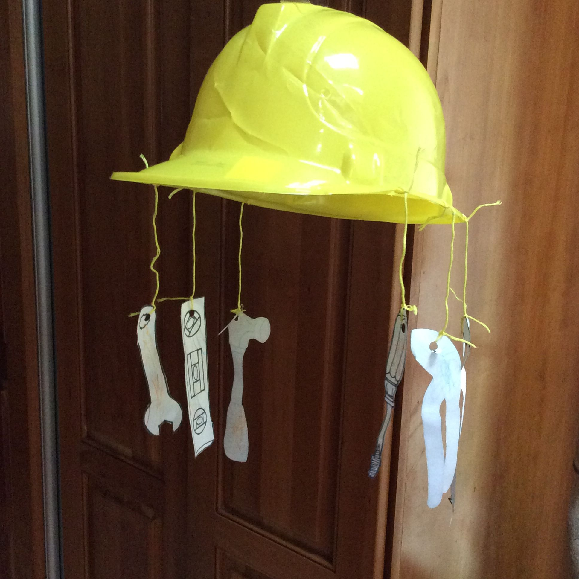 Construction Workers Mobile Hat