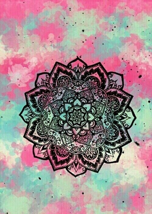 Girly wallpaper | Girly wallpapers | Mandala, Wallpaper, Tumblr wallpaper