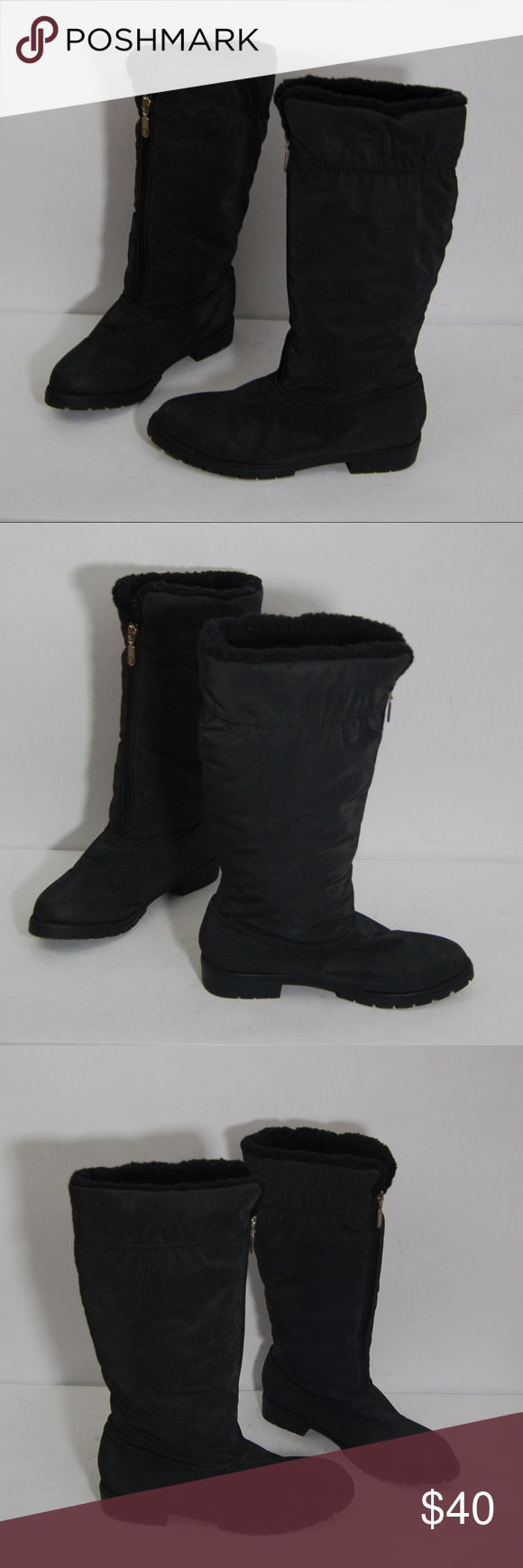 Black Winter Etienne Fleece Lined Boots Aigner hQdsrCxt