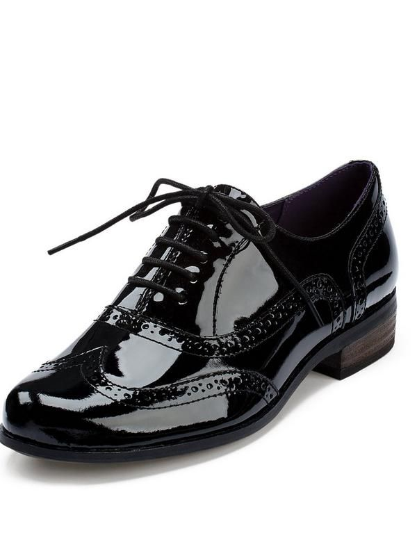 1025132e6f0 Clarks Clarks Hamble Oak Brogue. Clarks Hamble Oak Ladies Patent Brogue  Shoes Androgyny is a key look for the season ahead and style driven  dressers will ...