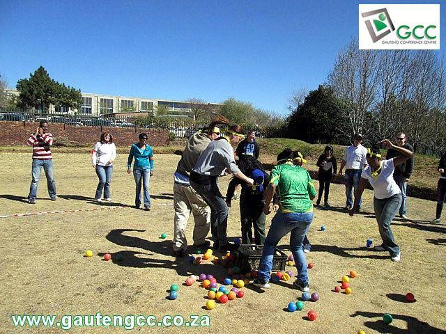 Standard Bank Team Building Event at Gauteng Conference Centre