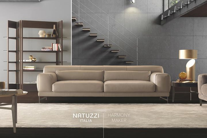 Natuzzi Modern And Stylish Ido By Mauro Lipparini Has A Clean Design And Attention To D Contemporary Designers Furniture With Images Luxury Furniture Living Room
