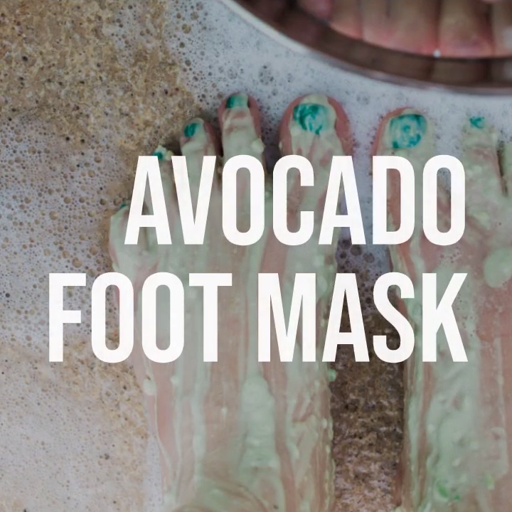 Take you at home manicure and pedicure to the next level with this DIY Beauty Avocado Mask #masks #diymask #diybeauty #beauty