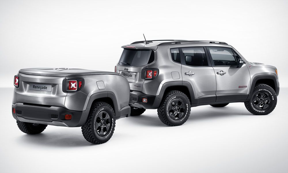 Jeep Renegade Hard Steel Concept Big Sound In A Small Package