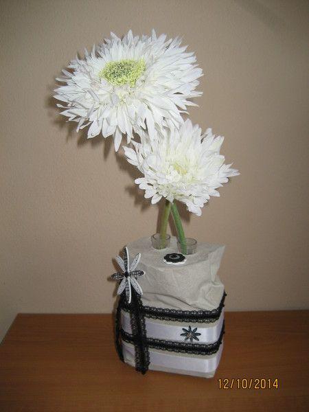 Vase aus Beton - Blumenvase von FILZ_HOLZ_und_MEHR auf DaWanda.com