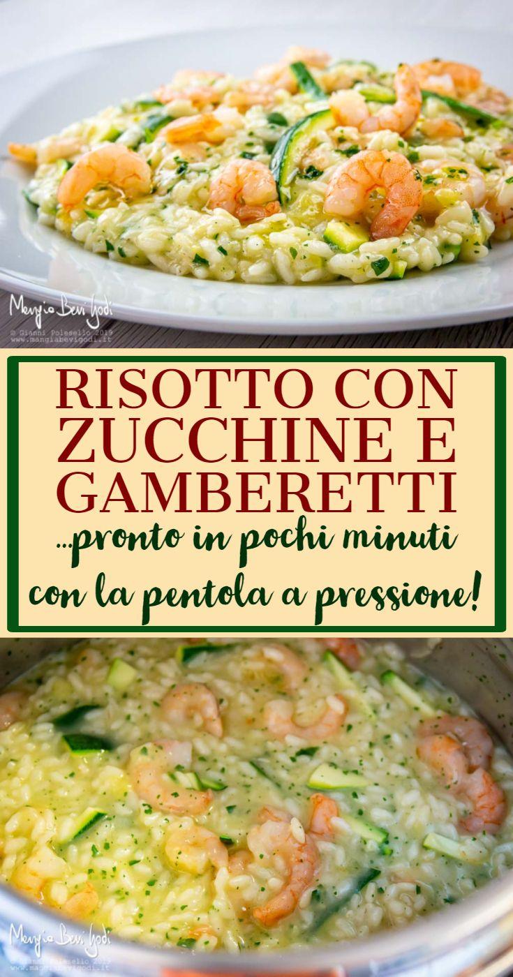 Photo of Risotto con zucchine e gamberetti