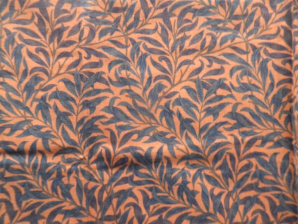 Vintage Sanderson Cotton Fabric Offcut 'Willow Bough Minor' William Morris #Sanderson