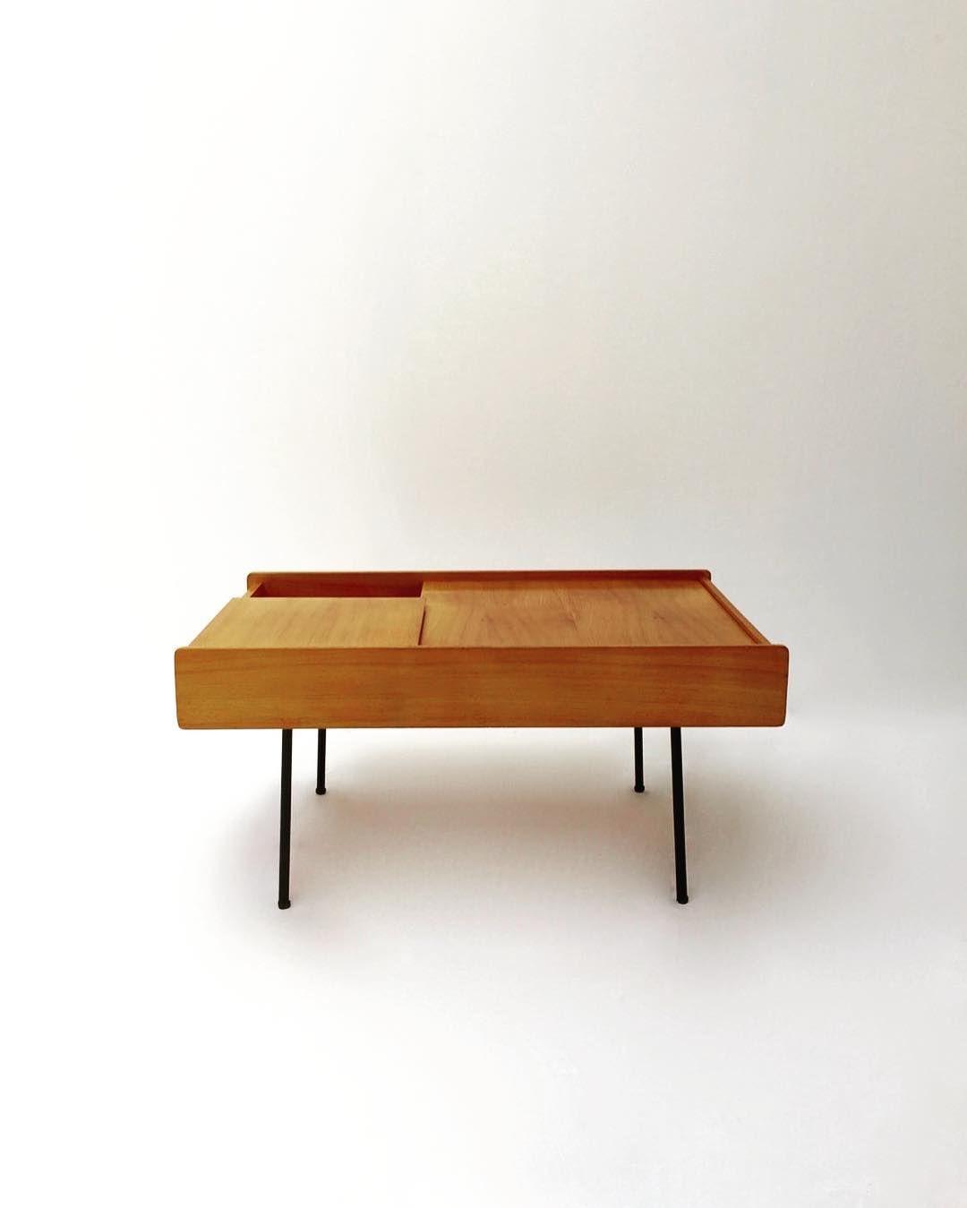 Pierre Paulin 119 Meubles Tv France 1953 Low Tables Table Home Decor