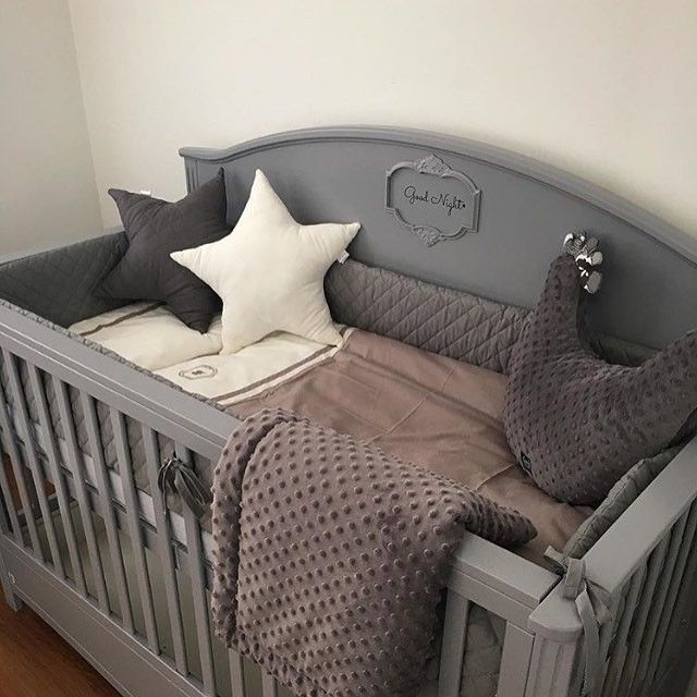 Lilly Grey Cot Bed Convertible To Sofa Grey Cot Bedding