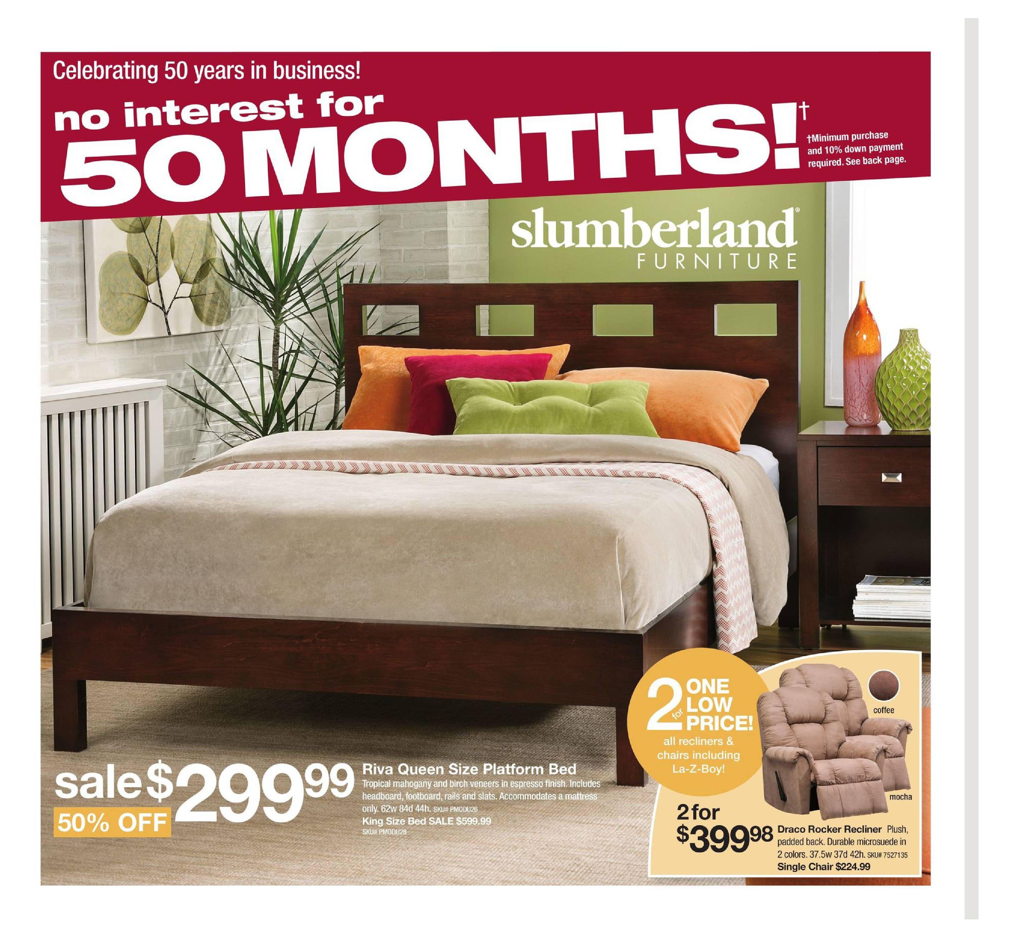 Slumberland Weekly Ad March 12 18 2017 atalog