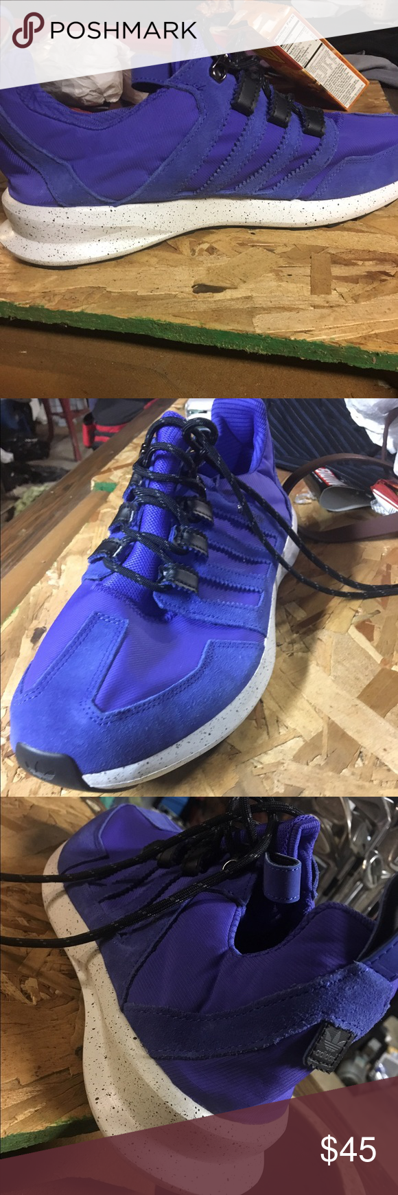 Blue adidas sl loop Royal blue. Never worn. SL loop adidas Adidas Shoes Sneakers