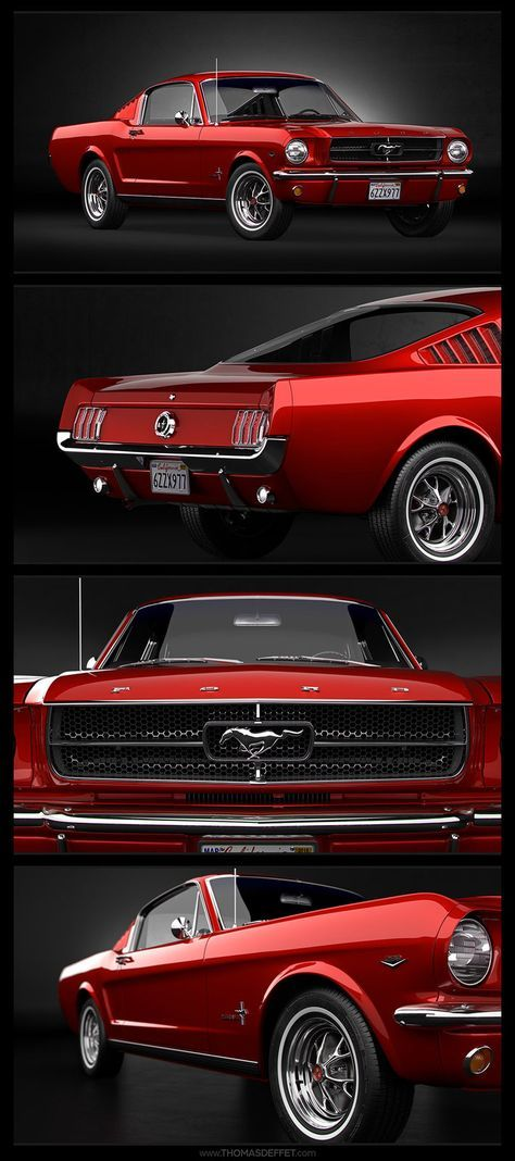 1965 Ford Mustang Fastback, Deffet Thomas