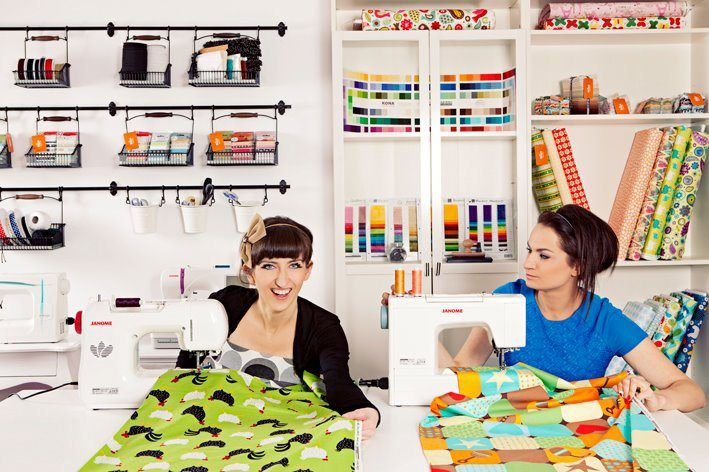 desire to inspire - desiretoinspire.net - Melki, Smaka and a sewing cafe called Nitka