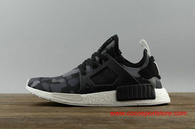 61263bc687078 Adidas NMD XR1 BA7231 PK Black Camo Men s Originals  75.00