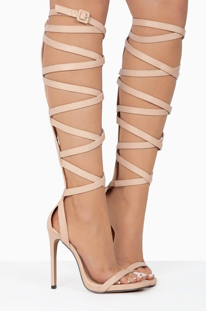 14083b60fe Helena - Nude   WISHLIST   Stiletto heels, Heels, Nude