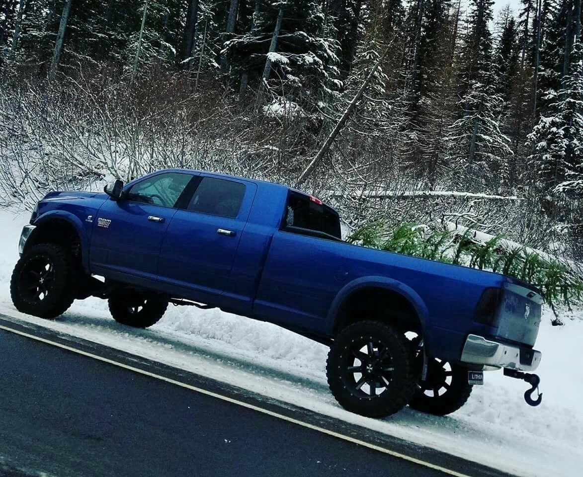 Mega Cab Long Bed Rams Trux Pinterest Trucks Dodge