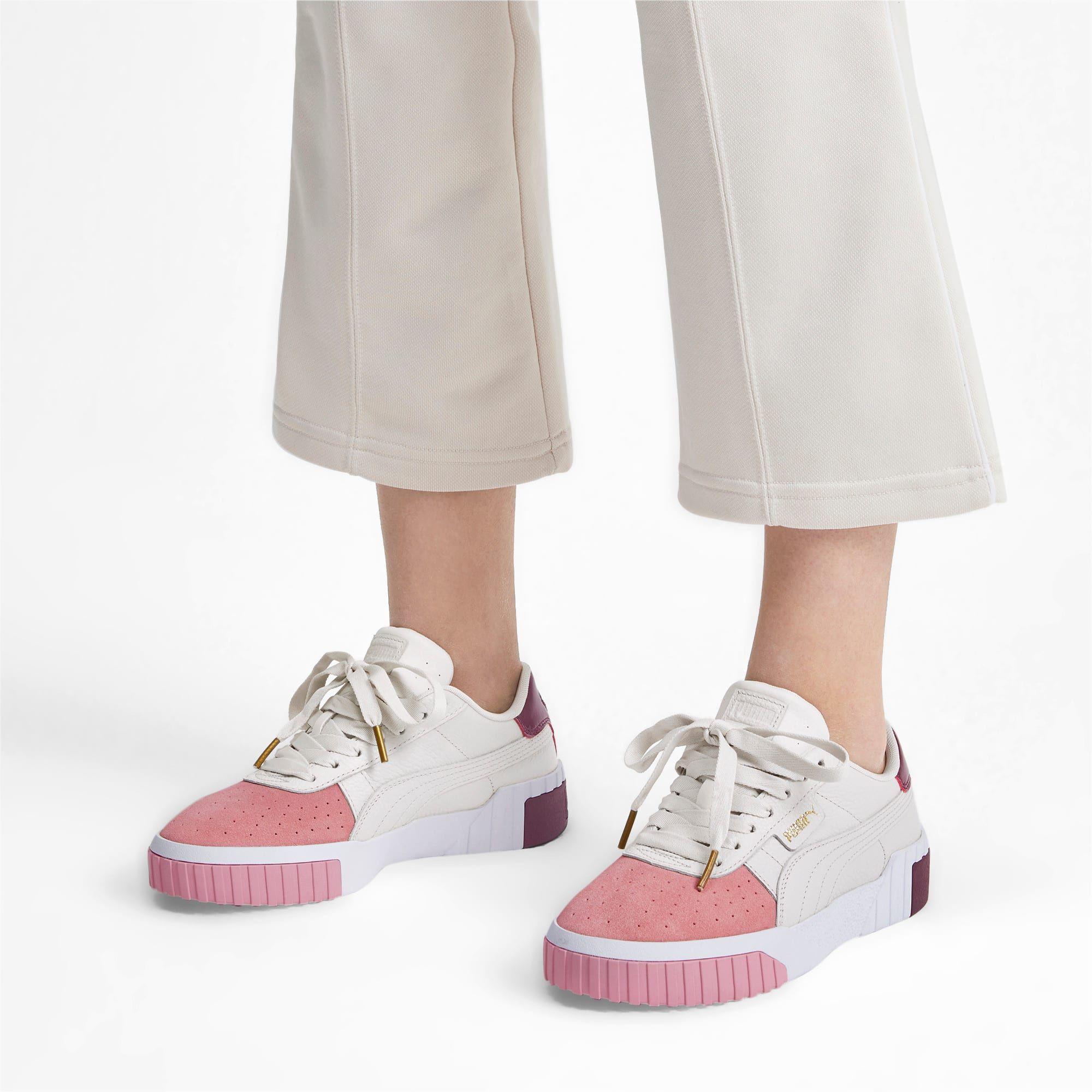 Selena Gomez Models PUMA CALI Remix Sneaker