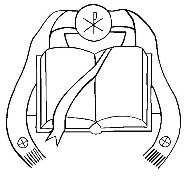 Sacrament of Holy Orders Coloring Page - TheCatholicKid ... |Holy Orders Clipart