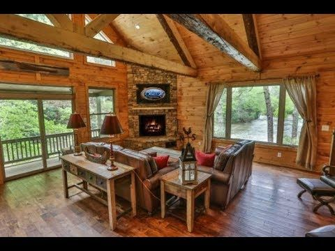 Ellijay Georgia Cabin Rentals River Song Blue Sky Cabin