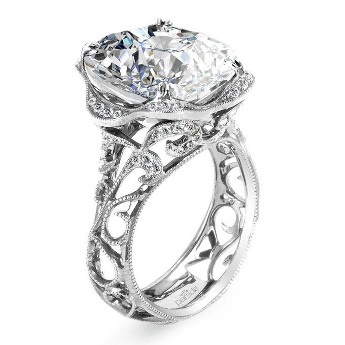 brides unique engagement ring settings style r2784
