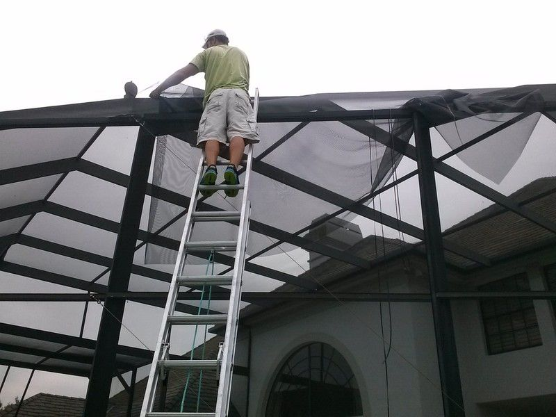 Pool Cage And Screen Repair Specialists Screen Enclosures Screen Repair Pool Cage