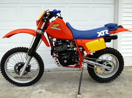 honda xr500r 1983 so many memories do it in the dirt pinterest rh pinterest com 84 Honda XR 500 Specs 1982 Honda XR 500 Specs